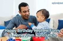 Happy Birthday Nephew Funny