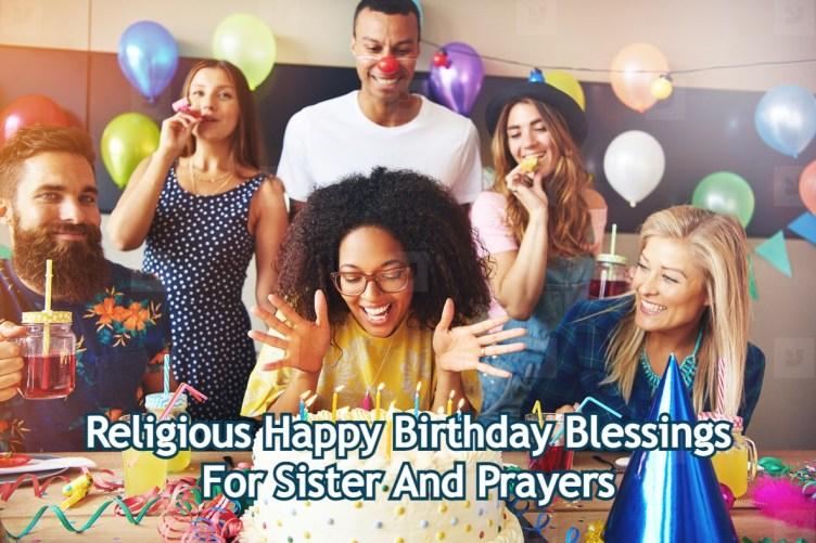 Birthday Blessings For Sister