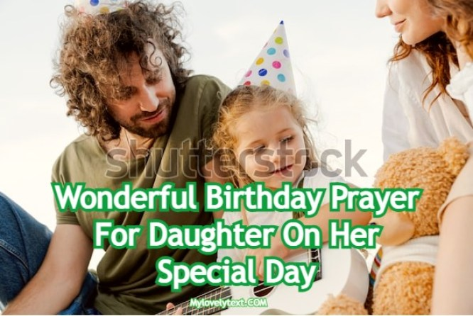Birthday Prayer For Daughter