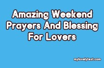Weekend Prayers