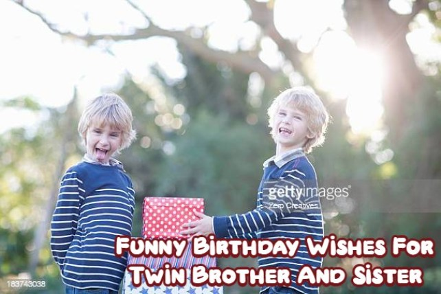 Happy Birthday Twins Funny