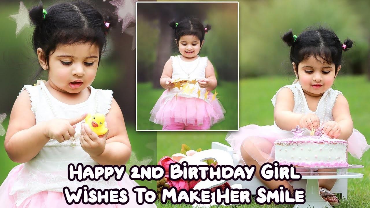 Happy 2nd Birthday Girl Wishes