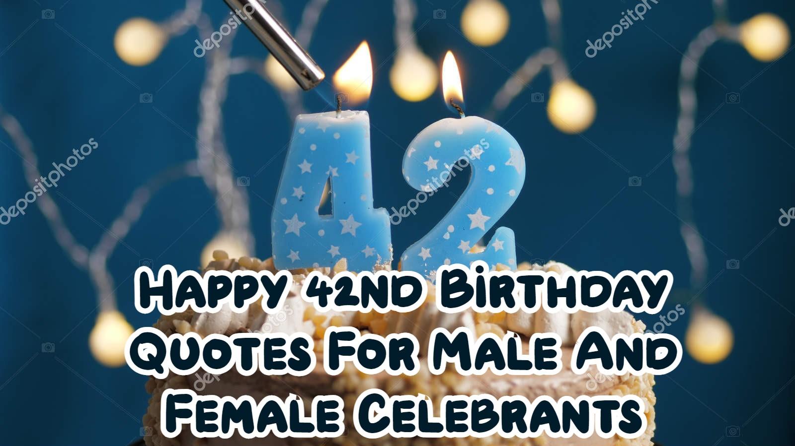 Happy 42nd Birthday