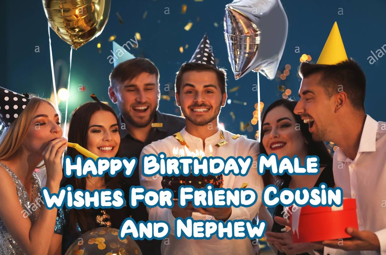 Happy Birthday Male