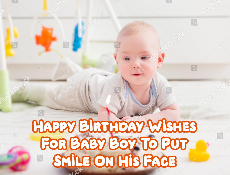 Happy Birthday Baby Boy