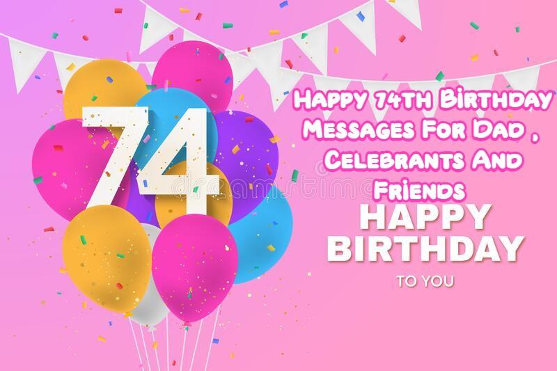 Happy 74th Birthday
