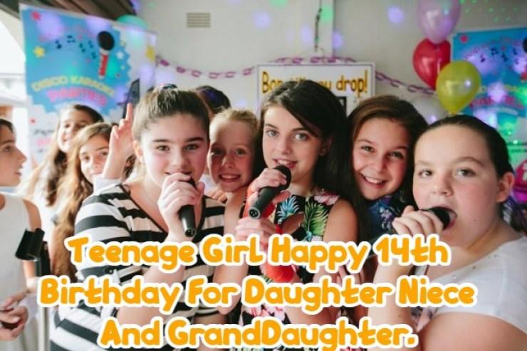 Happy 14th Birthday Daughter