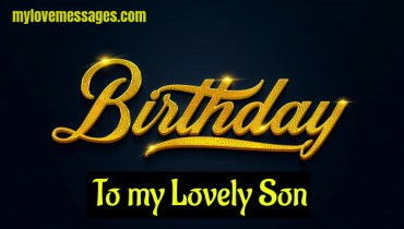 happy birthday to my first born son poems