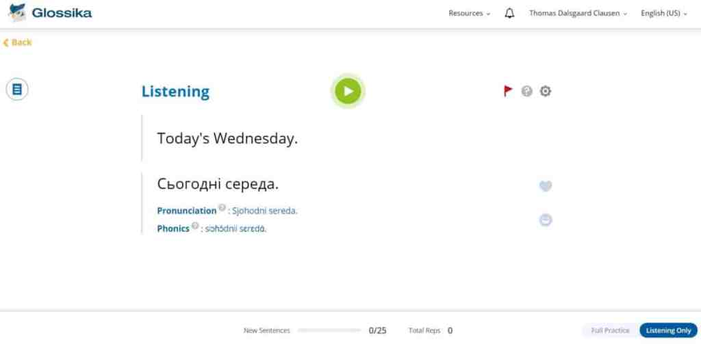 How to learn Ukrainian with Glossika
