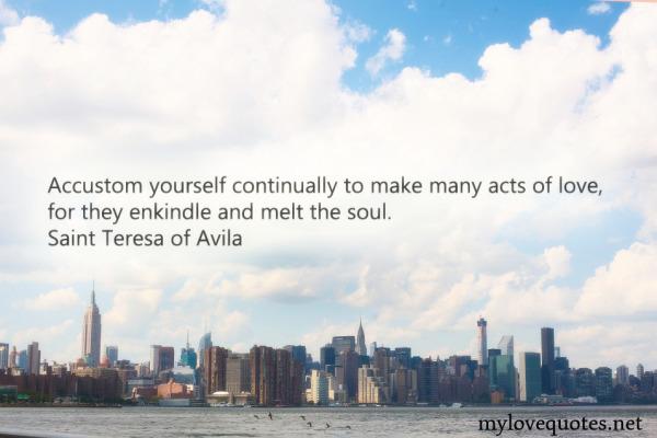 accustom yourself continually to make