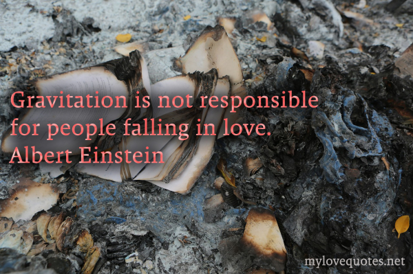 gravitation is not responsible for people