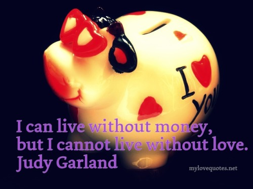 i can live without money
