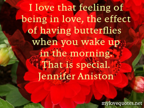 i love that feeling of being in love the effect of having butterflies