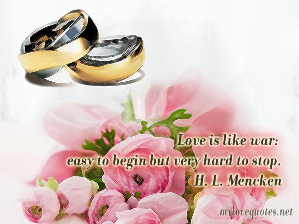 love is like war easy to begin