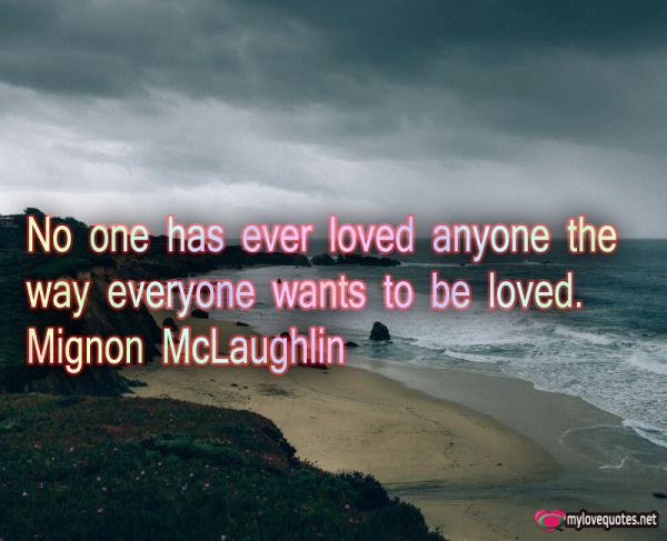 no one has ever loved anyone the way