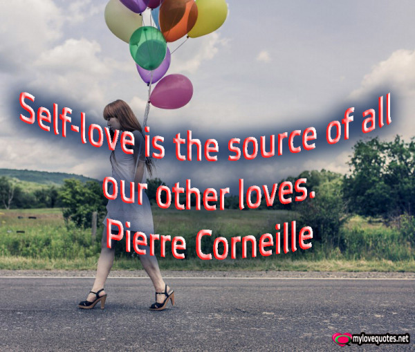 self-love is the source of all