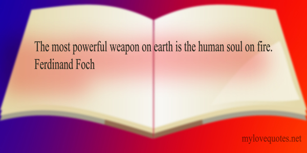 the most powerful weapon on earth
