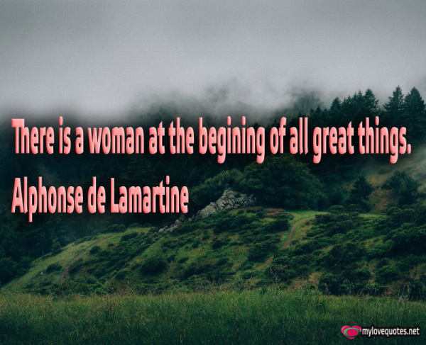 there is a woman at the begining of