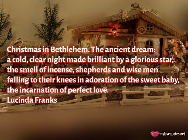christmas in bethlehem the ancient dream a cold clear night made brilliant by a glorious star