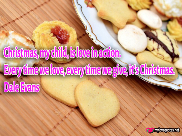 christmas mt child is love in action