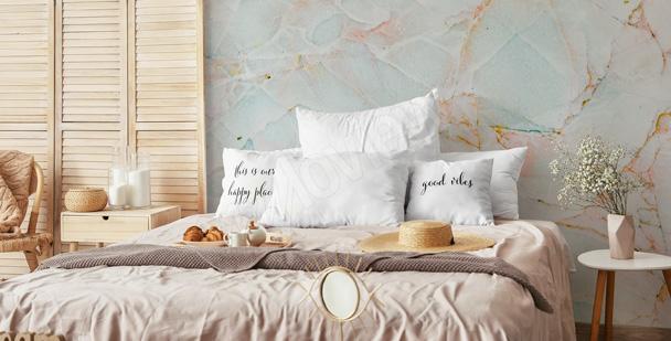 papiers peints chambre a coucher mur aux dimensions myloview fr