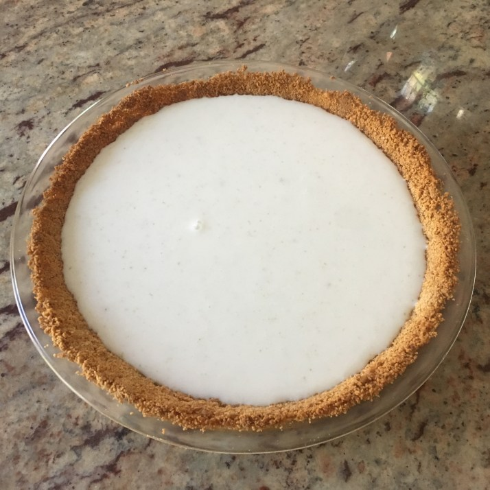Pour into baked pie crust and Refrigerate for 3 hours or until set.