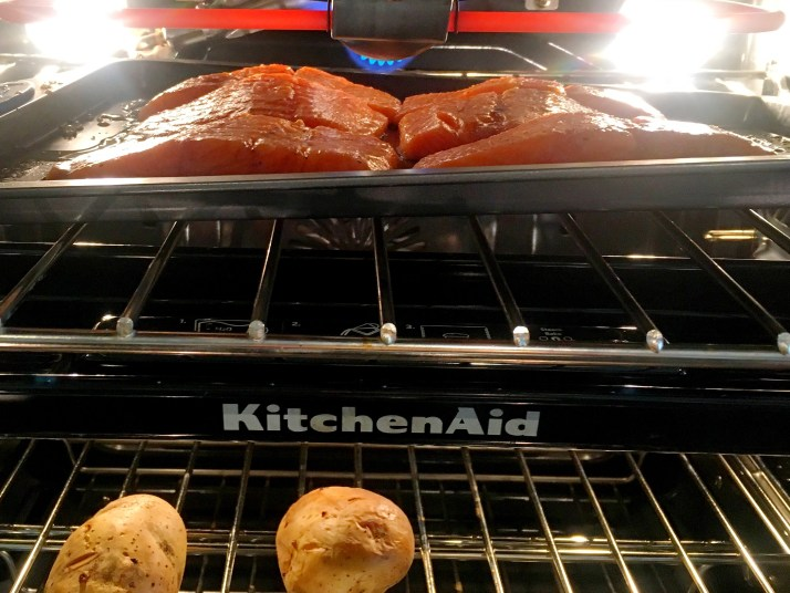 Broil fish for 5-6 minutes. Turn portions over and broil other side for 5-6 minutes