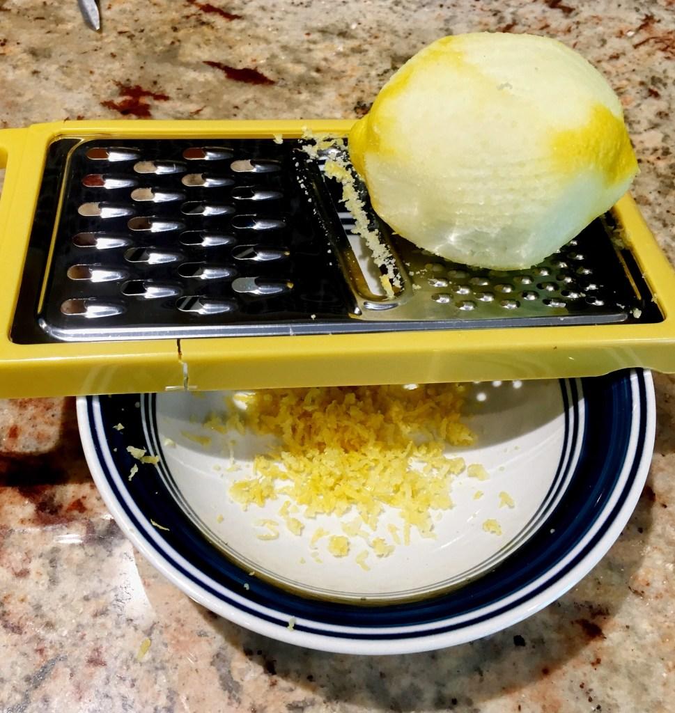how to make Lemon zest