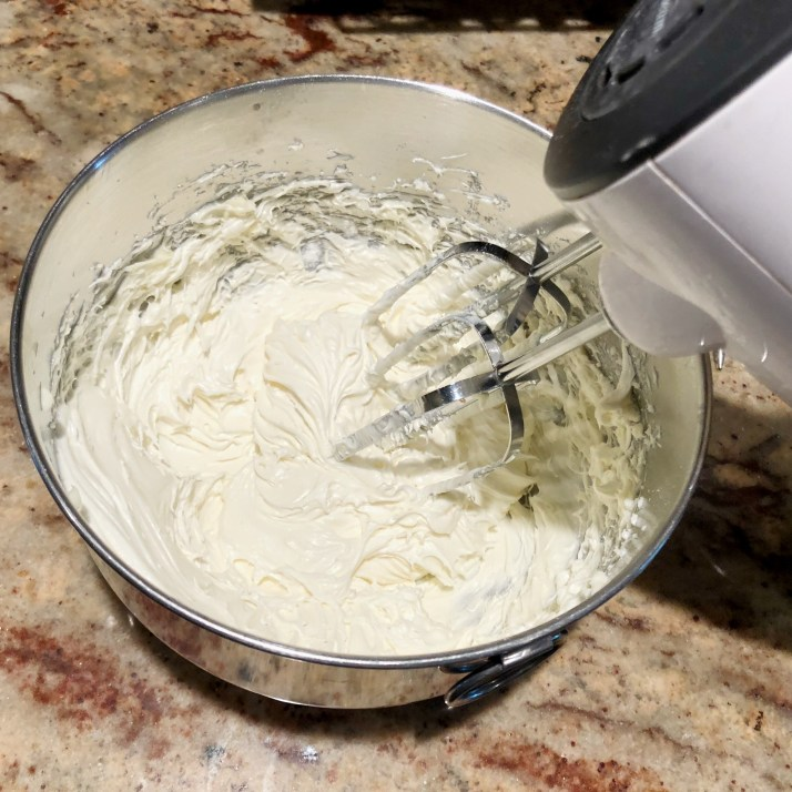 Cream Cheese Glaze Mix all ingredients for the icing with a electric mixer until fluffy and smooth.