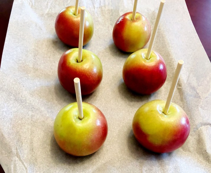 Apples for candied apples