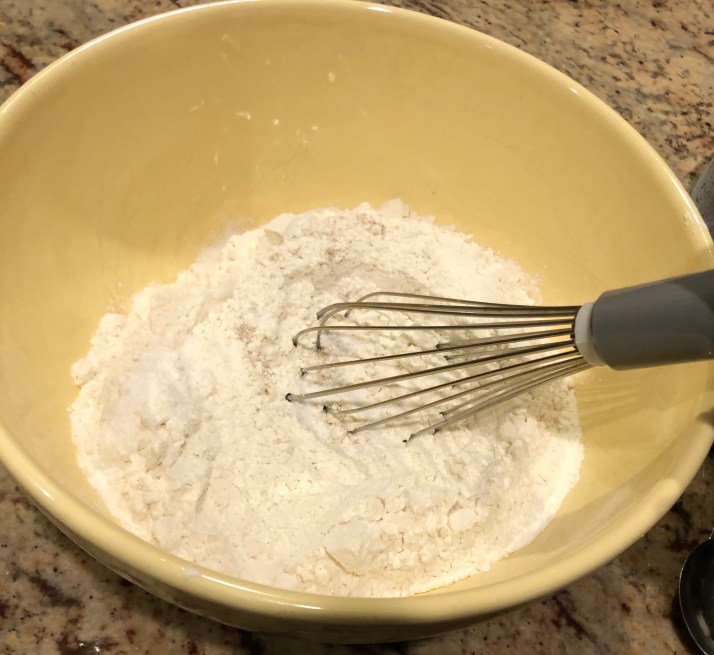 Whisk together