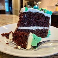 Celebrate St. Patrick's Day with a Spirited Chocolate Irish Cream Cake!