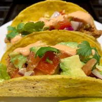 Get Your Healthy On with These Spicy Air Fryer Fish Tacos!