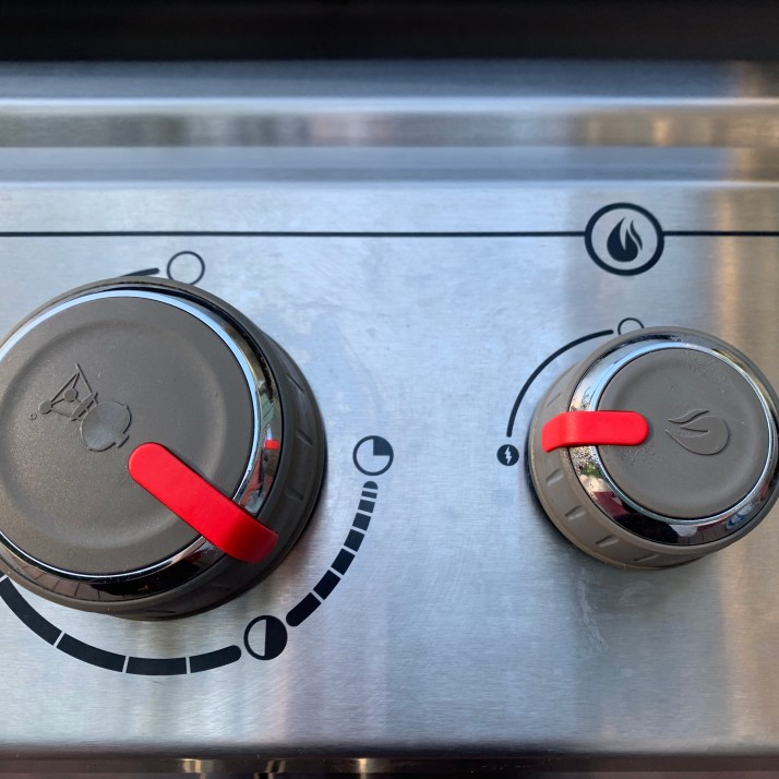 Preheat your grill-                                                 *if your grill has a searing station turn it on high and then turn another burner on medium low heat.  If you do not have a sear station on your grill, turn one burner on high and another on medium low and close the lid on the grill.  Allow the the grill to get really hot, around 450℉