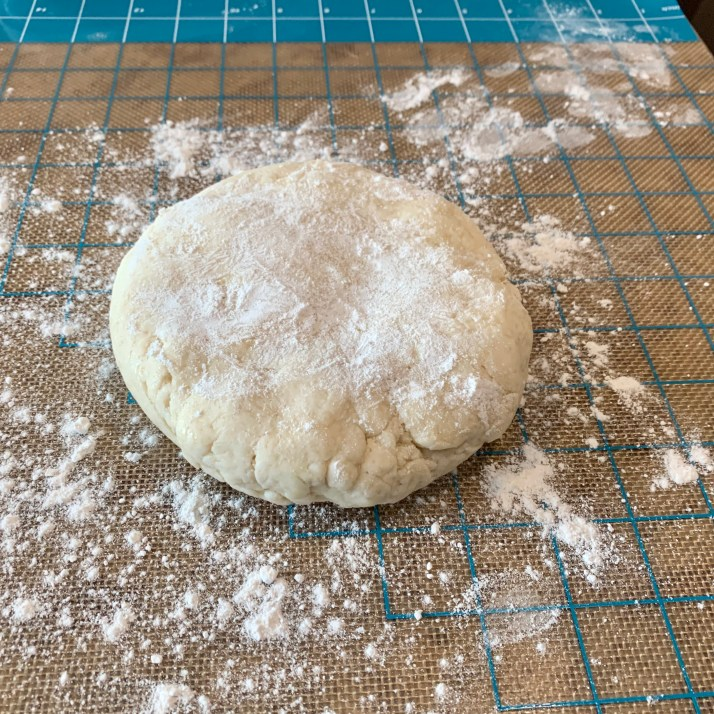 preheat oven to 400℉remove the dough from the refrigerator and place on a lightly floured surface