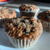 Blueberry Buttermilk Bran Muffins-BBB Triple Threat!
