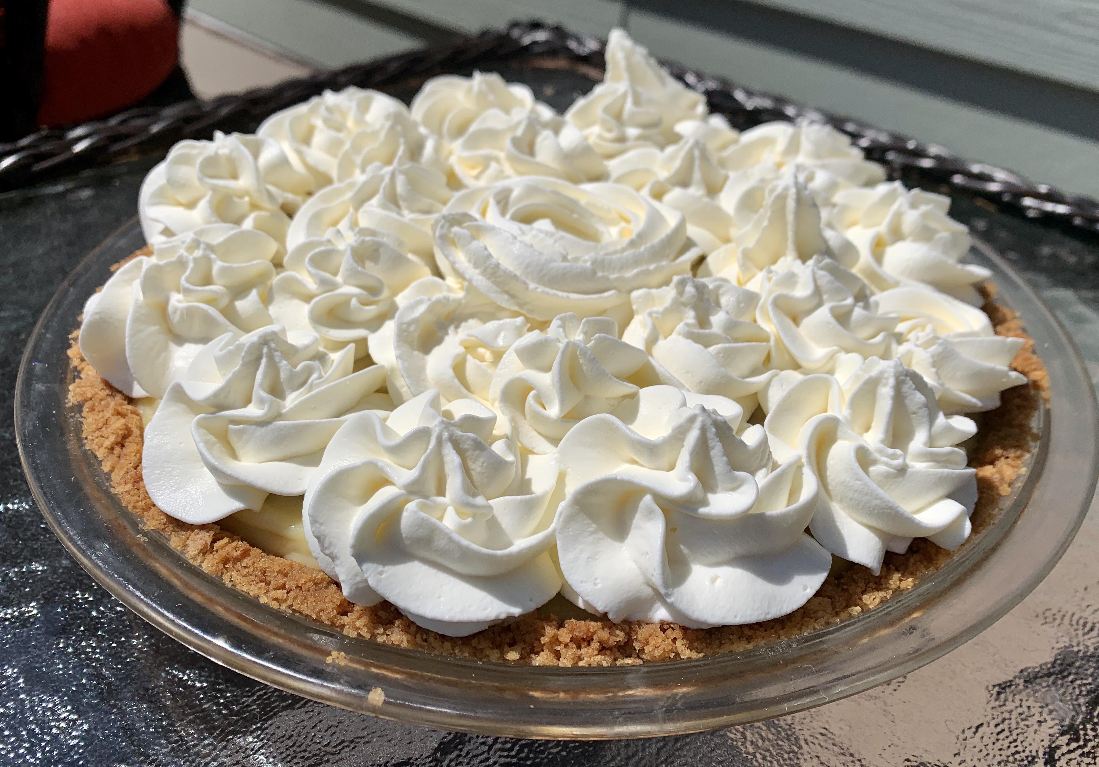 Ban<del>d</del>ana Cream Pie? The Perfect Quarantine  Pie! via @susanmylovingoven.com
