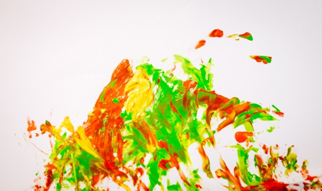 Schilderij gemaakt door Max