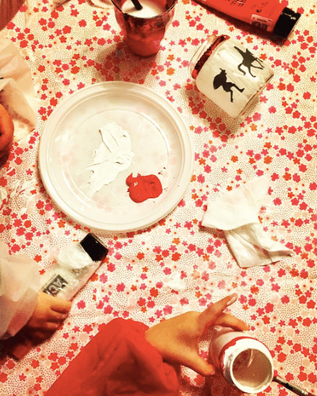 Sinterklaas potjes beschilderen