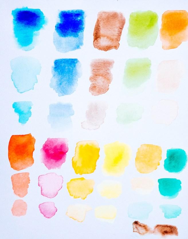 Beginnen met aquarellen
