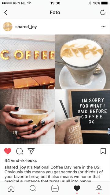 mijn feature op instagram