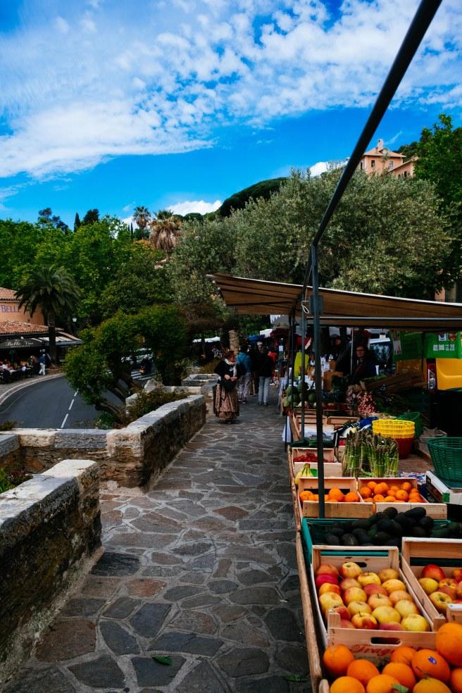 markt in bormes