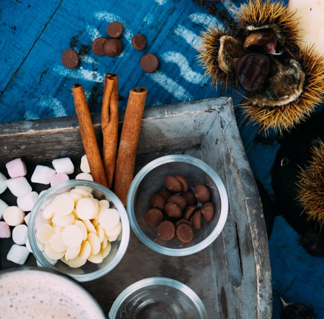 chocolademelk fotografie