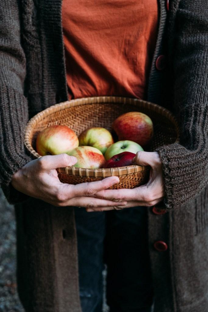 handen met appels