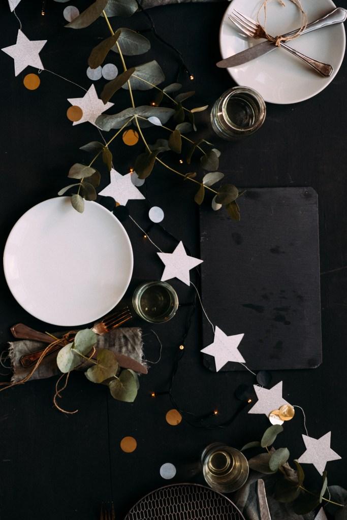 kerst tafel styling