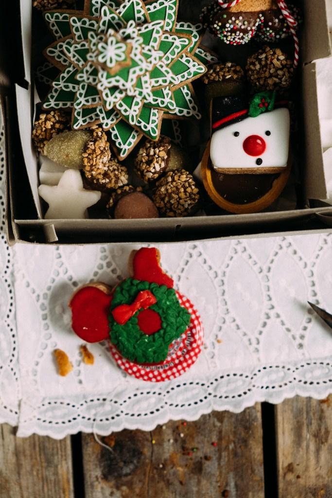 kerstkoekjes box