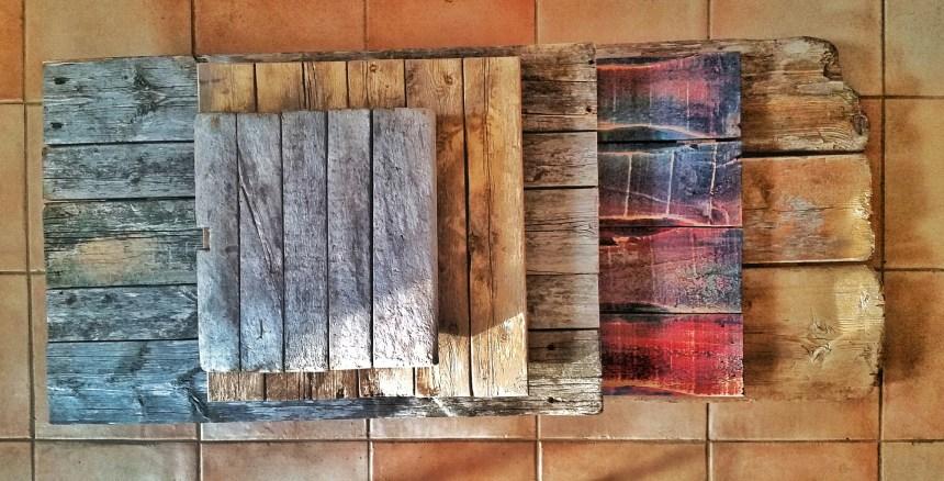 houten ondergronden