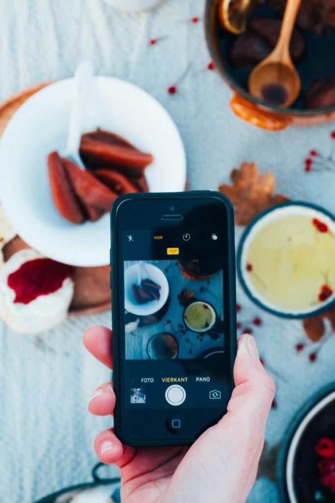 foto's maken met je telefoon