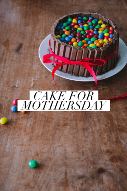 cake for mothersday