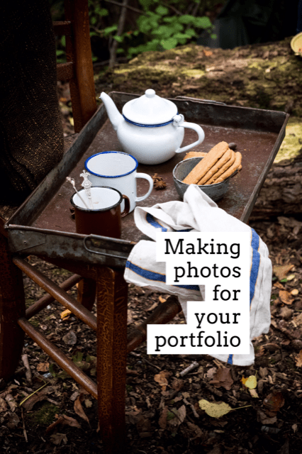 Making photos for your portfolio- Mylucie.com